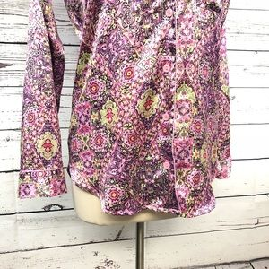 Victoria's Secret Intimates & Sleepwear - Victoria's Secret pajama top paisley small long